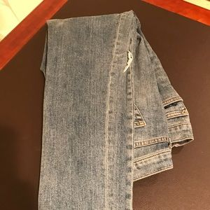 DIstressed GAP jeans